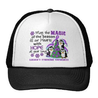 Christmas Penguins Sjogren's Syndrome Trucker Hat