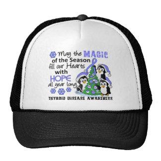 Christmas Penguins Thyroid Disease Hat