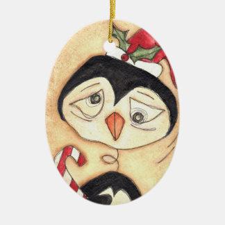 Christmas Penquin Ornament