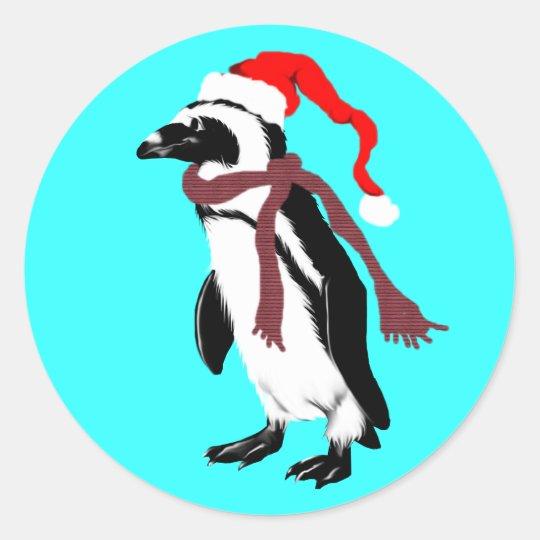 Christmas Penquin Sticker