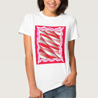 Christmas Peppermint Candy By Sharles T-Shirt
