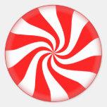 Christmas Peppermint Candy Sticker