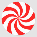 Christmas Peppermint Candy Stickers