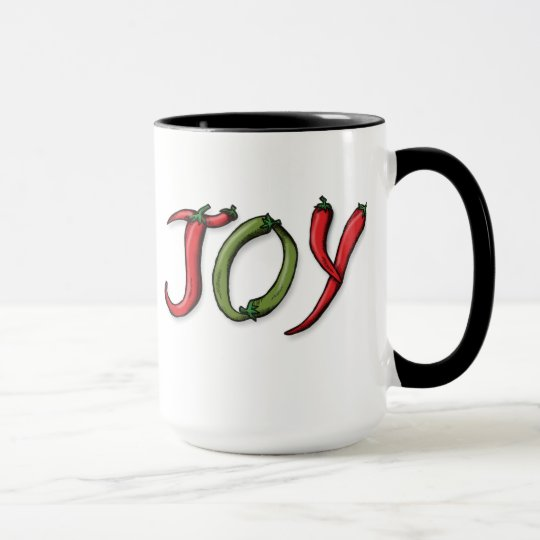 Christmas Peppers mug
