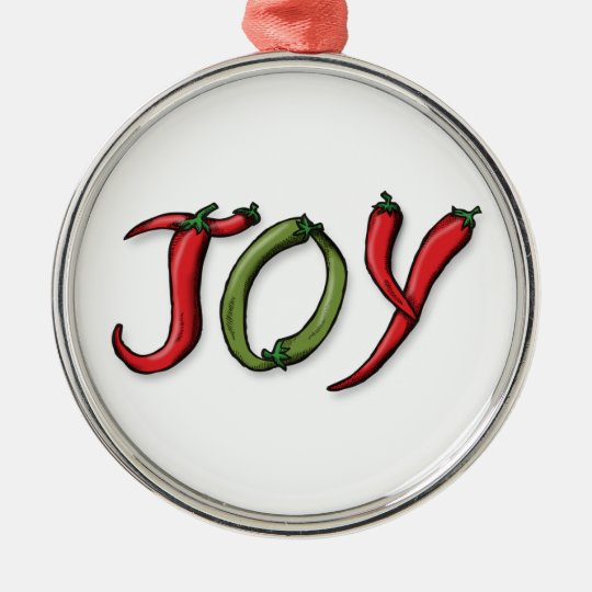 Christmas Peppers ornament