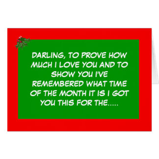 Christmas period card