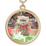 Christmas - Persian Cat - Frannie Custom Jewelry