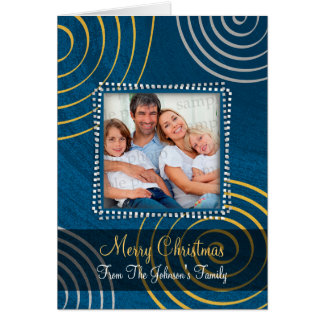 Christmas Personalizable Family Card