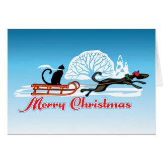 Christmas Pet Parade Card