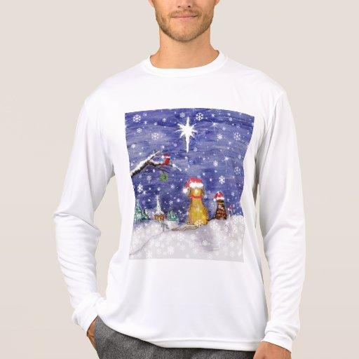 Christmas Pets - art T Shirt