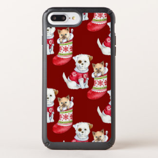 Christmas Pets Speck iPhone Case
