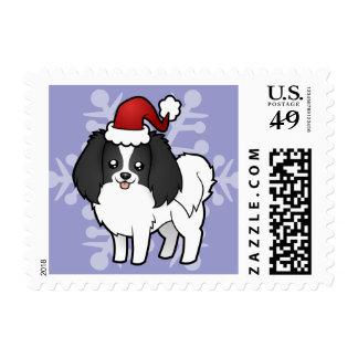 Christmas Phalene / Japanese Chin Postage