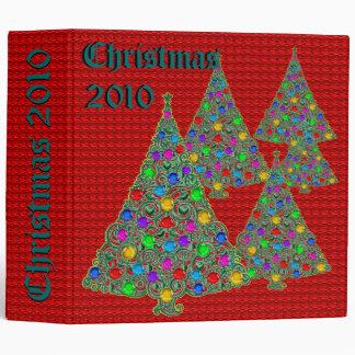 Christmas Photo Album 3 Ring Binders