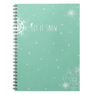 Christmas Photo Album Spiral Notebook