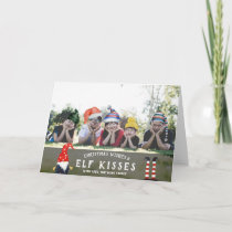 Christmas Photo Card | Elfish Overlays