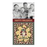 Christmas Photo Card - Frog