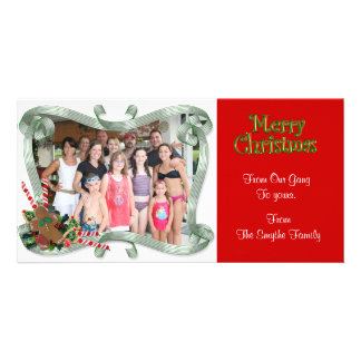 """Christmas Photo Card """"From the gang"""""""