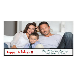 Christmas Photo Card Happy Holidays