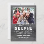 Christmas Photo Card, Holiday Photo Card, Selfie
