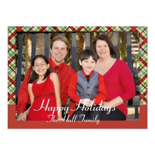 Christmas Photo Card Insert