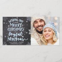 Christmas Photo Card - Merry Christmas