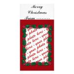 Christmas Photo Card or Photo Gift Tag Photo Card