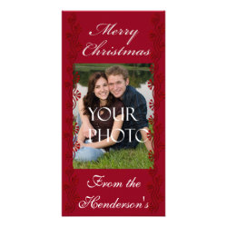 Personalized Christmas Family Photo Cards - Customize Yourself ...