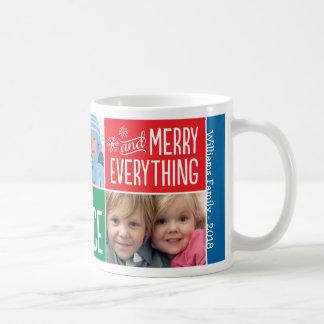 Christmas Photo Collage Mug | Merry Everything