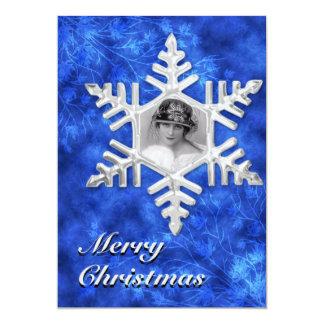 Christmas Photo Flatcard Card