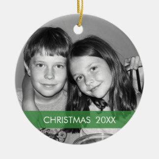 Christmas Photo Frame - Modern Ceramic Ornament