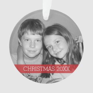 Christmas Photo Frame - Modern Ornament