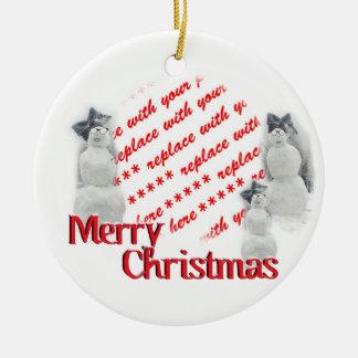 Christmas Photo Frame Christmas Tree Ornaments