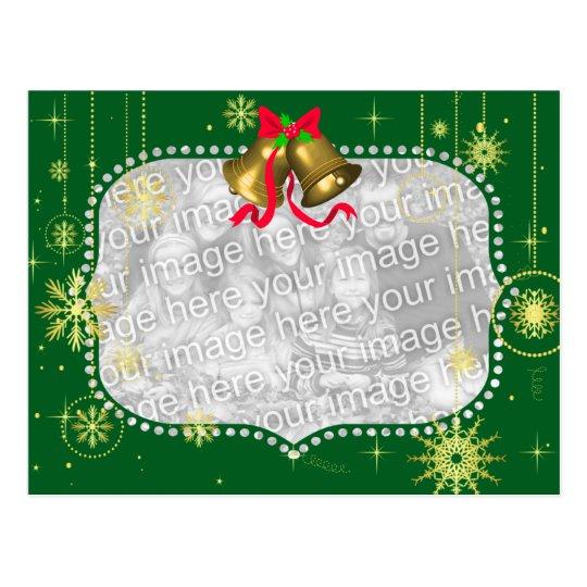Christmas Photo Frame Postcard