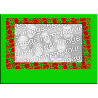 Christmas Photo Frame Statuette