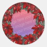 Christmas Photo Frames Sticker