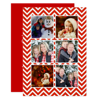 Christmas Photo Greeting and Eggnog Open House Card