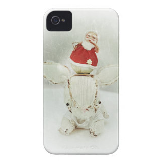Christmas Photo Holiday Greeting Card iPhone 4 Case-Mate Case