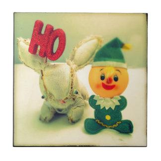 Christmas Photo Holiday Greeting Card Tile