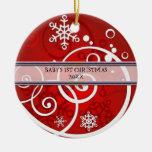 Christmas Photo Ornament Template