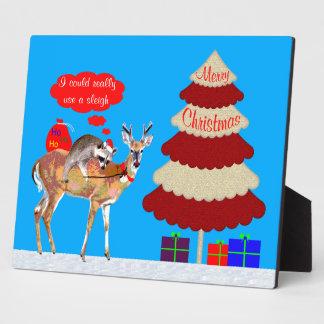 Christmas Photo Plaque