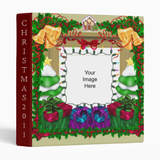 Christmas Photo Template Avery Binder