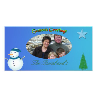 Christmas Photo Template Card Picture Card
