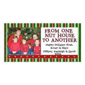 Christmas Photo Template Customized Photo Card