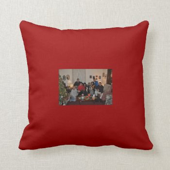 Christmas Photo Throw Pillow by creativeconceptss at Zazzle