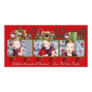 Christmas Photo Train - Holiday Card