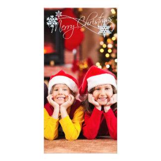 Christmas PhotoCard Add your photo Photo Card