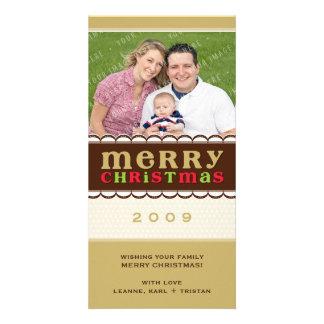 CHRISTMAS PHOTOCARD :: candyfloss 1 Card