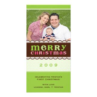 CHRISTMAS PHOTOCARD :: candyfloss 2 Card