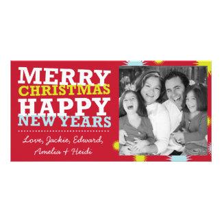 Christmas Photocards - Merry Christmas Happy Photo Card