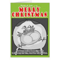 Christmas Photocopying Card